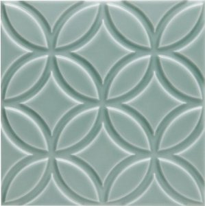 Керамическая плитка Adex Neri Adne4147 Liso Botanical Sea Green 15x15