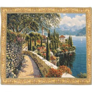 Гобелен Flanders Tapestries Varenna Vista large/Вид на Варенну (Роберт Пежман) 120х96, Бельгия