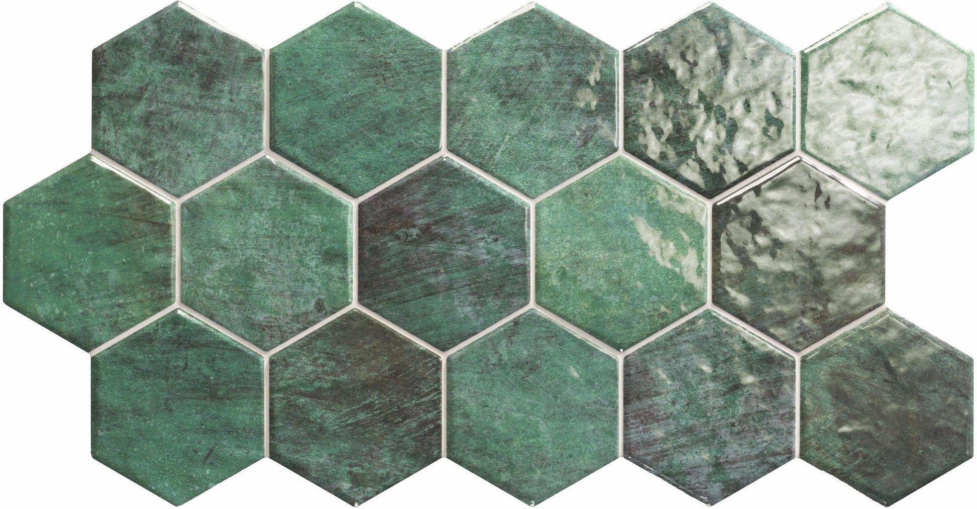 single hexagon tiles -