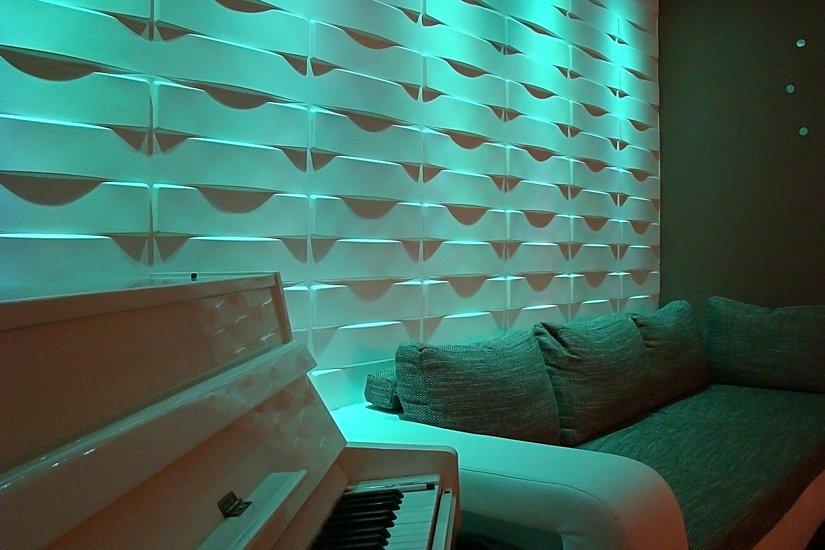 3d стены своими руками фото