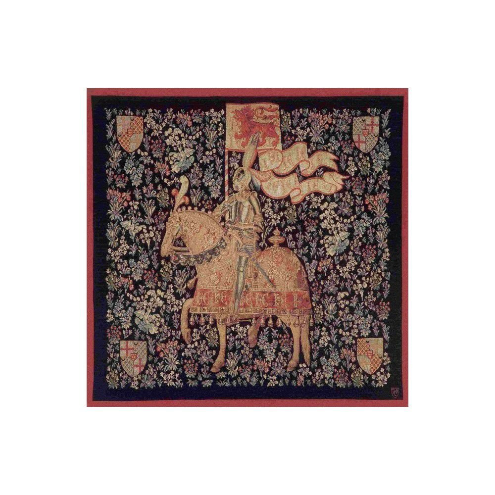 Гобелен Art De Lys Le chevalier, square/ Шевалье 150х150, Франция
