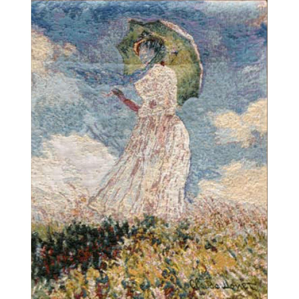 Гобелен Metrax Craye Lady with a parasol/Дама с зонтиком 100x70, Бельгия