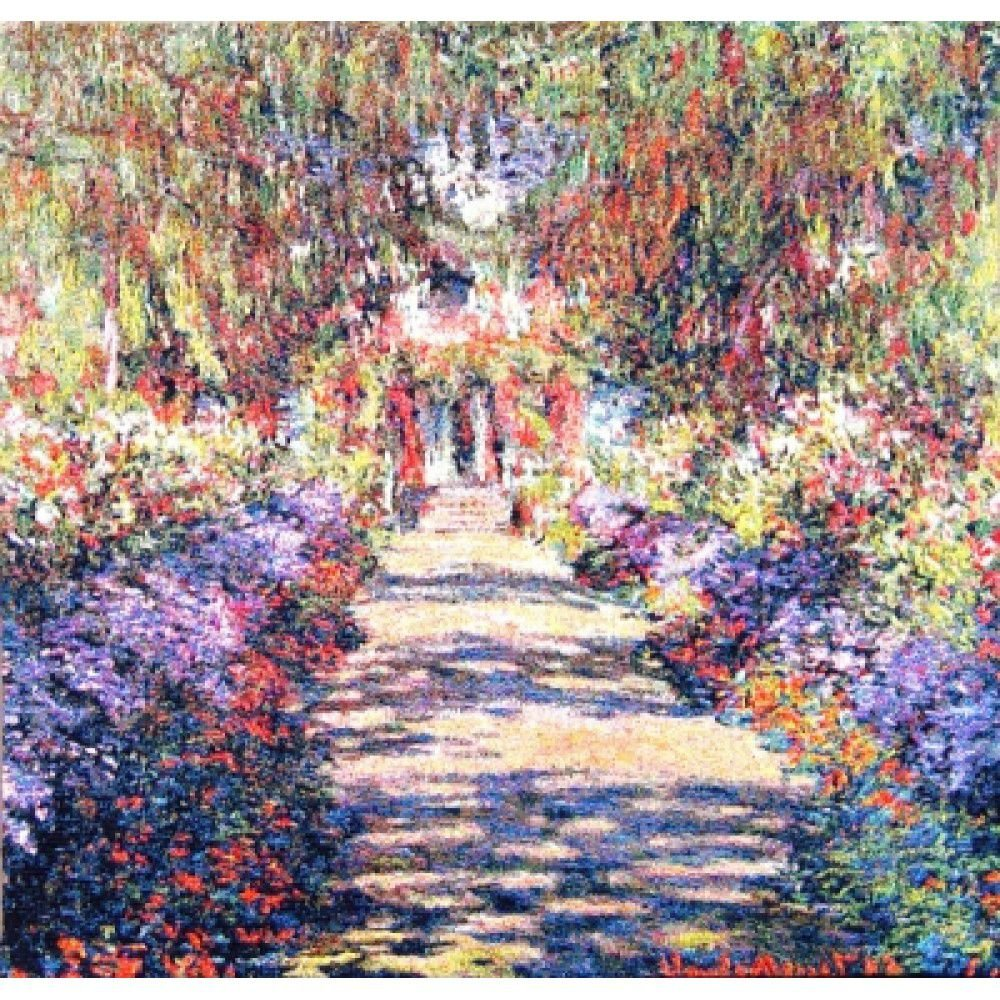 Гобелен Flanders Tapestries Allée de Monet medium / Аллея (Клод Моне) 101х99, Бельгия