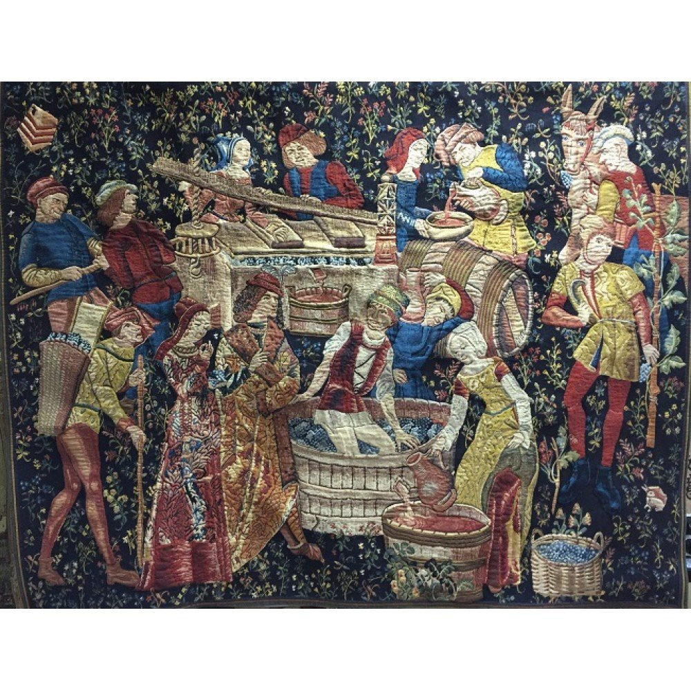 Гобелен Flanders Tapestries Grapes Harvest big/Сбор винограда 164x125, Бельгия