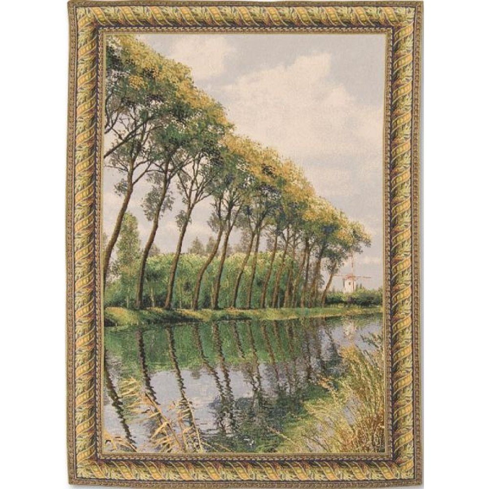 Гобелен Flanders Tapestries Canal in Flanders Mill big/Фламандский канал 116x168, Бельгия