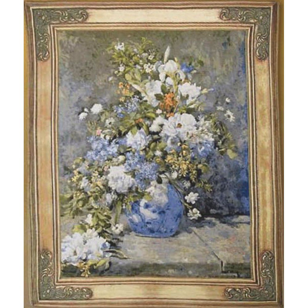 Гобелен Flanders Tapestries Renoir - Spring Bouquet small/ Весенний букет (Ренуар) 75х92, Бельгия