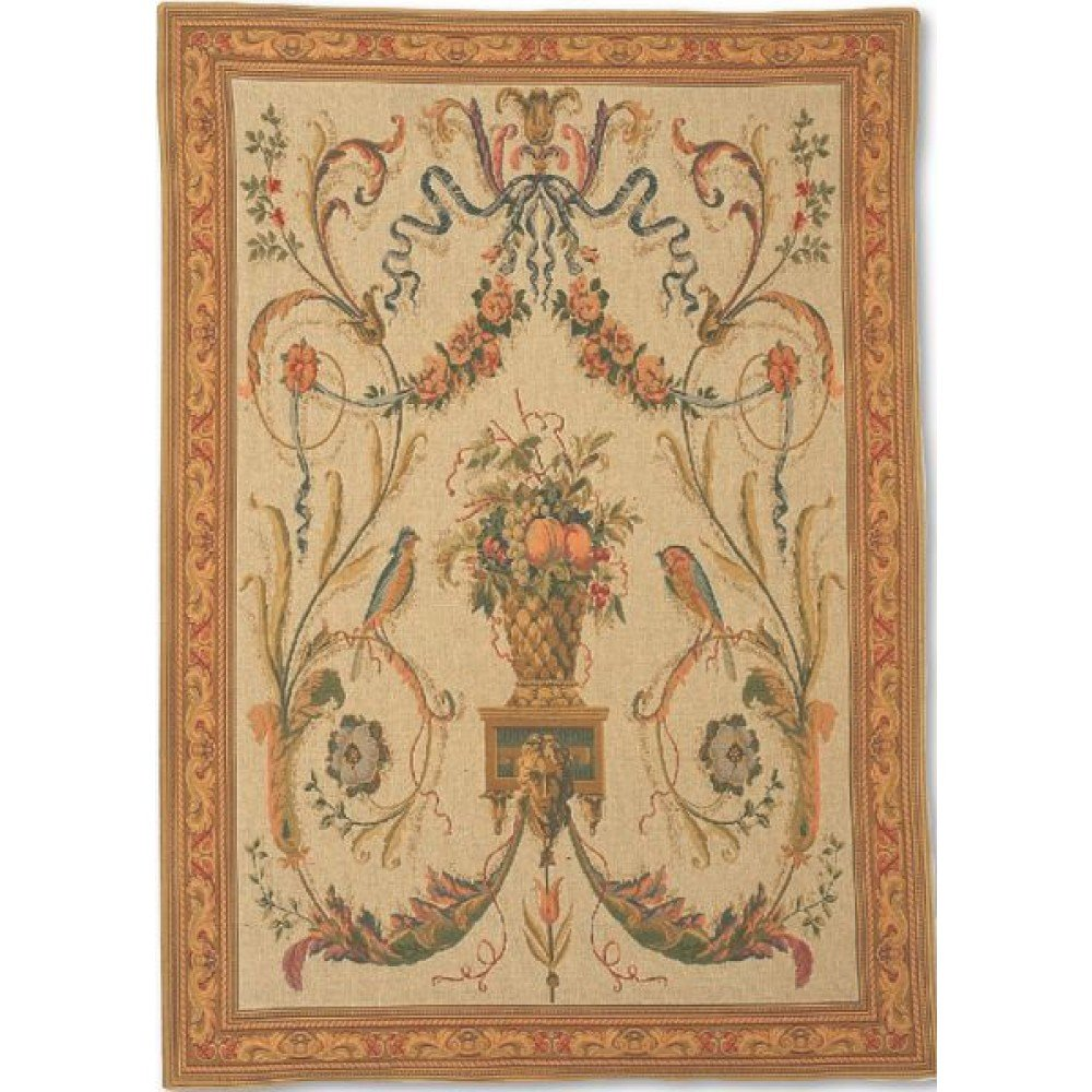 Гобелен Flanders Tapestries Birds beige small/Птицы 60х80, Бельгия