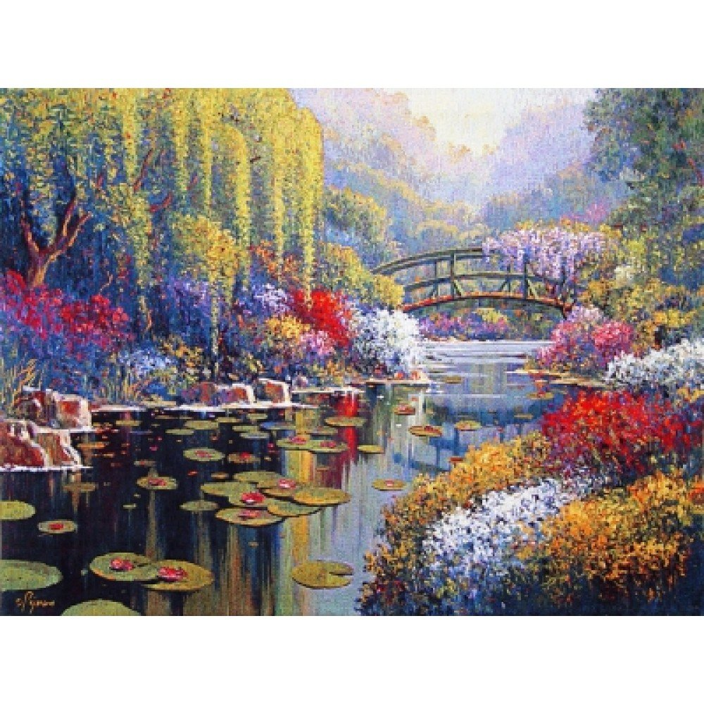 Гобелен Flanders Tapestries Giverny Pond big/Пруд Живерни (Пежман) 202x150, Бельгия