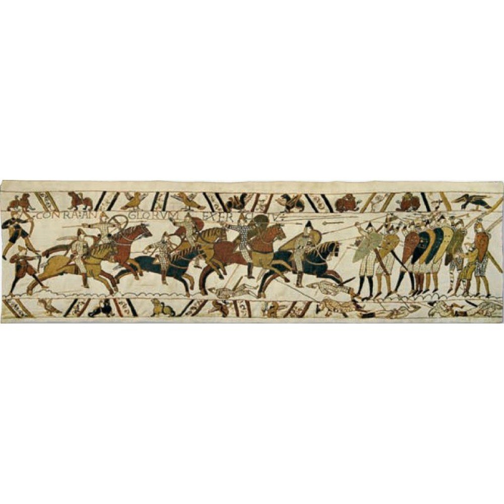 Гобелен Flanders Tapestries Bayeux - Battle of Hastings medium/Байе - Битва при Гастингсе 230x68, Бельгия