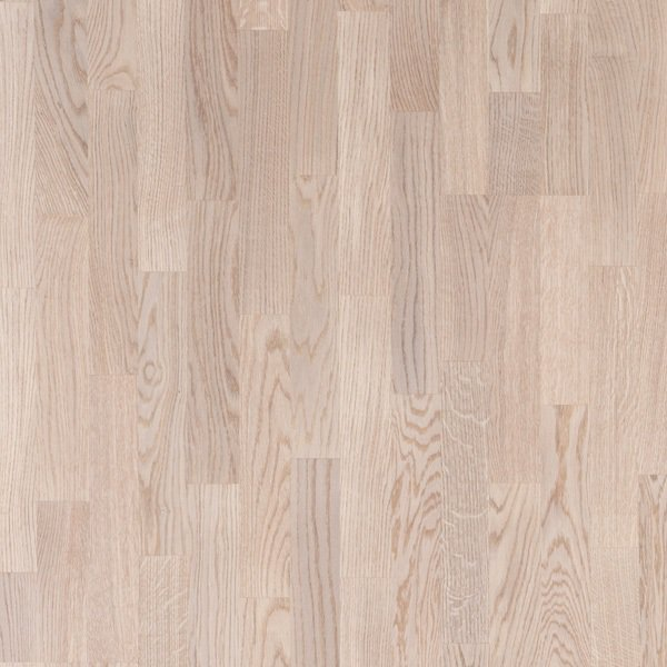 Паркетная доска Floorwood (Флорвуд) OAK Richmond WHITE MATT LAC 3S 2266x188x14 3 полосная